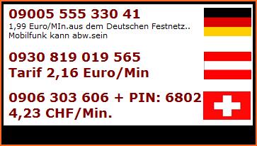 Sextelefon DE,AT,CH