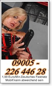 Telefonsex Oma total pervers am Sextelefon